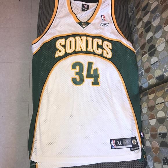 ray allen sonics jersey